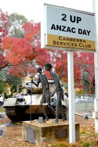 2 up ANZAC day