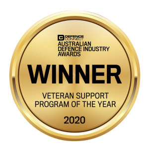 Veteran Support Program of the Year Badge