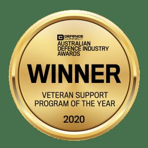Veteran Support Program of the Year Badge