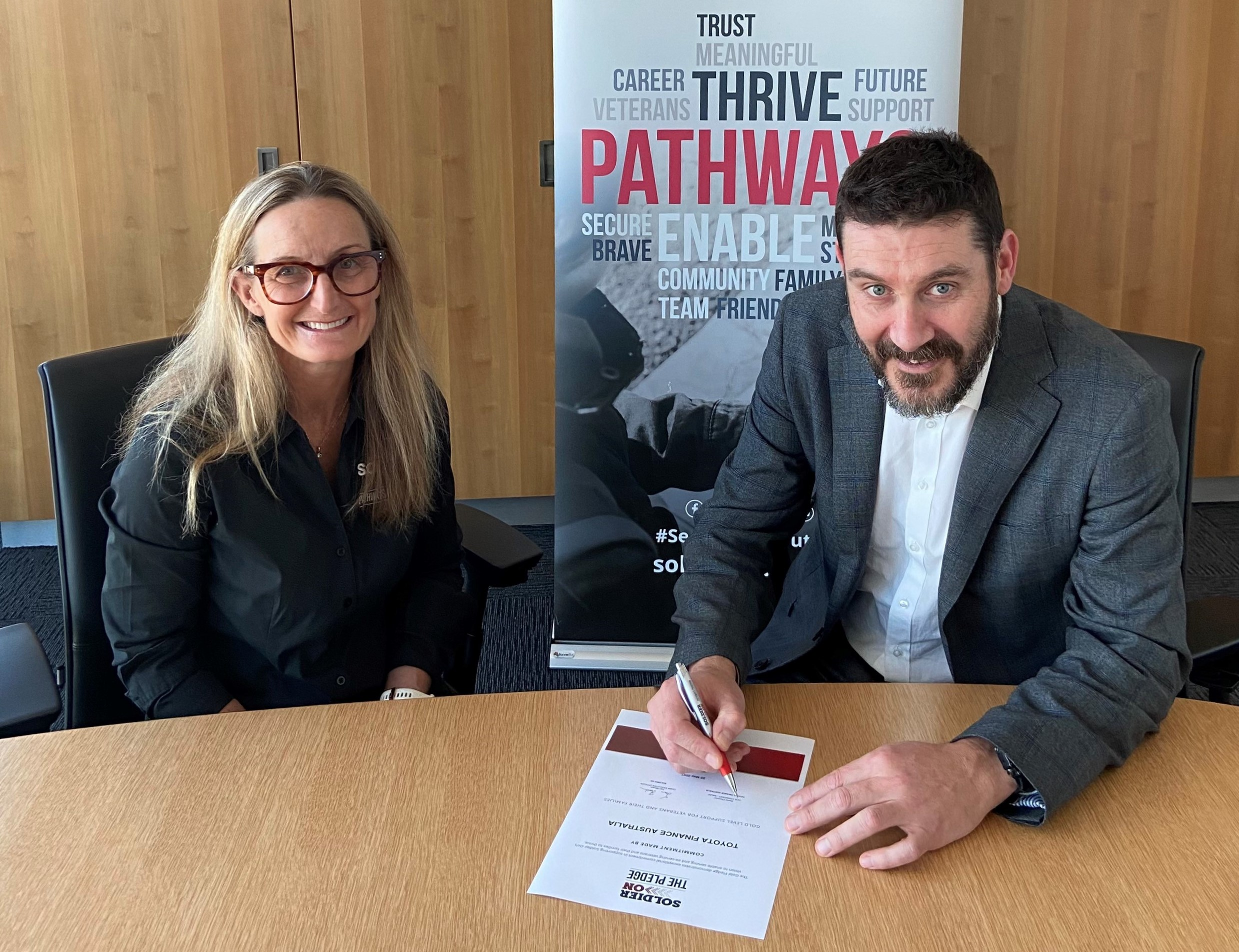 Toyota Finance Australia Commits to Support Australian Veterans